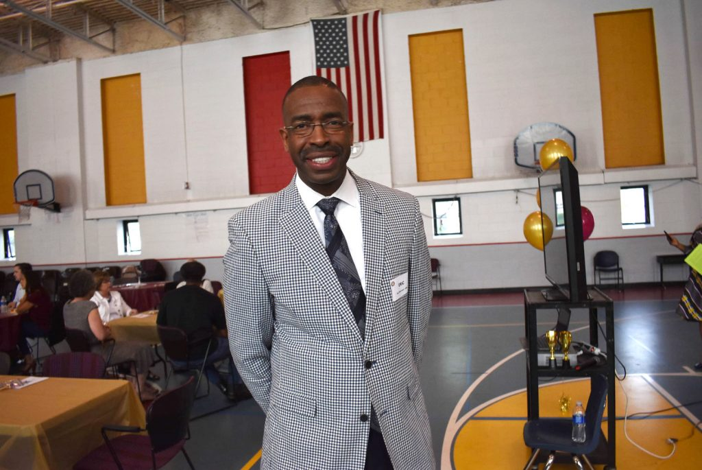 Eric Mahmoud, founder and CEO of the Harvest Network of Schools