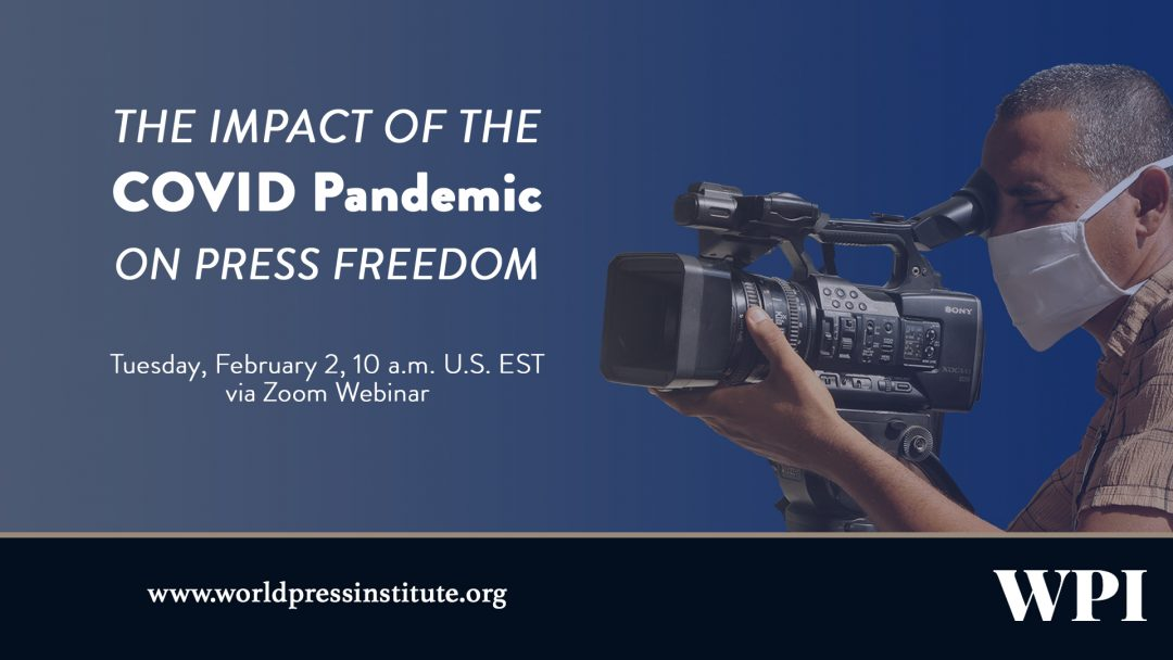 The Impact of the COVID Pandemic on Press Freedom